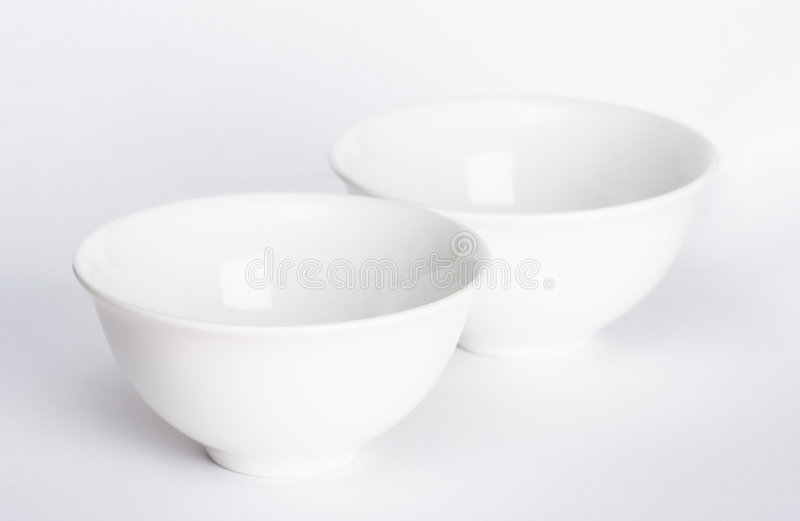 Two bowls royalty free stock photos
