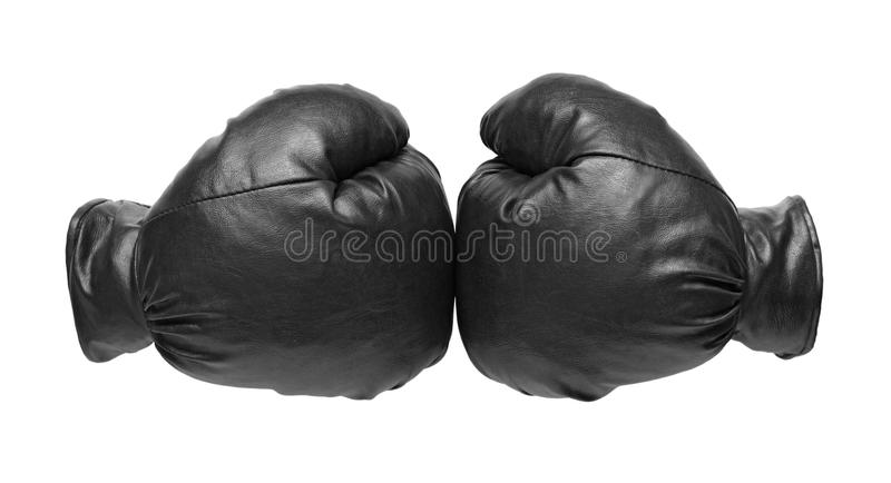 Two boxing glove stock image