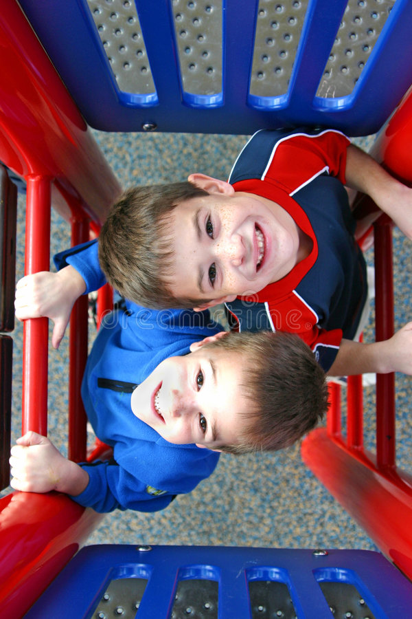 Download Two boys playing stock image. Image of cute, close, children - 2417093