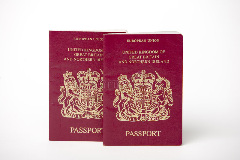 Download Two British Passports Royalty Free Stock Images - Image: 1823399