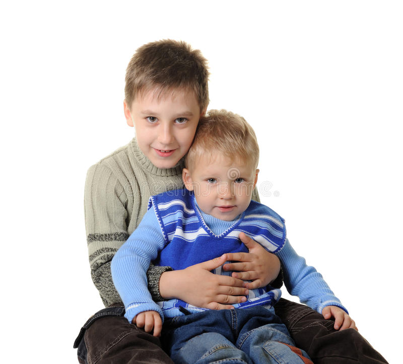 Free Two Brothers Stock Photography - 12174522