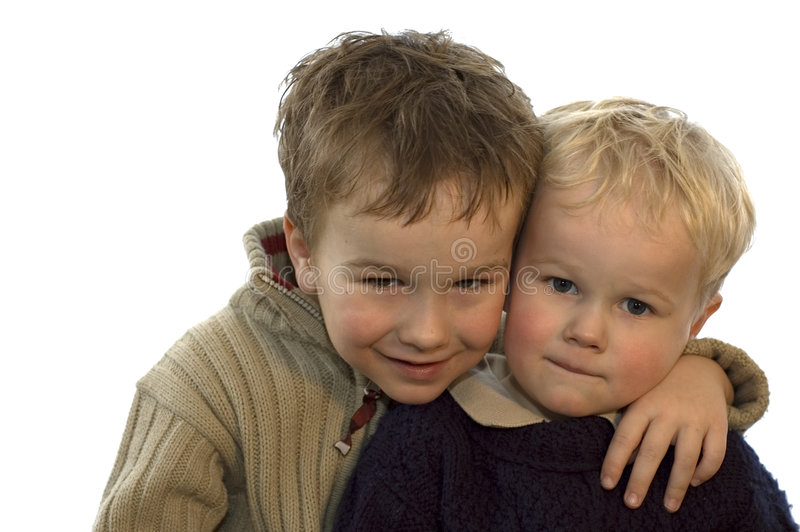 Two Brothers 3 royalty free stock images