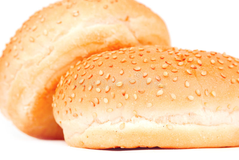 Two buns royalty free stock photography