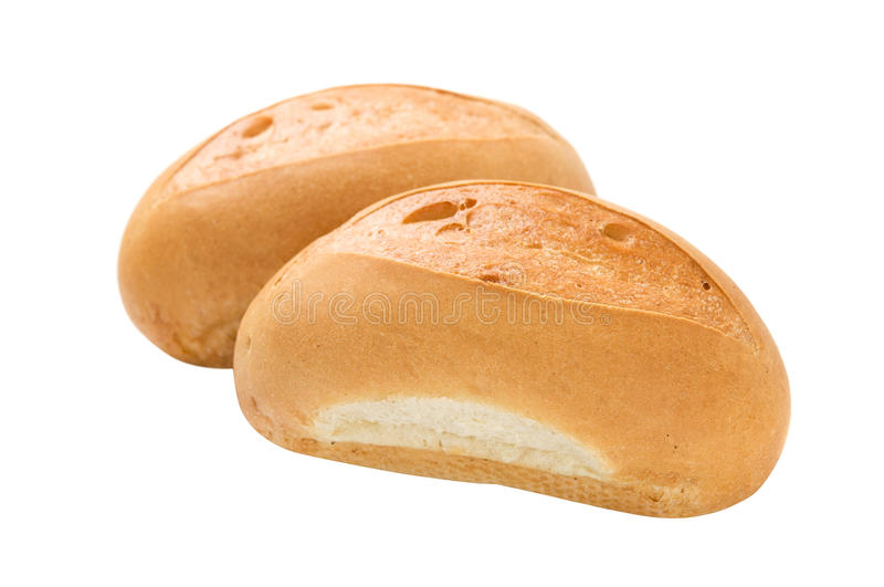 Download Two Buns Fully Isolated Stock Photos - Image: 25337403