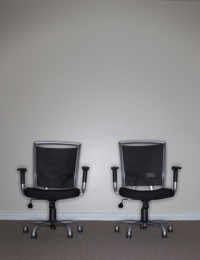 Download Two Business Chairs stock image. Image of modern, objects - 1439845