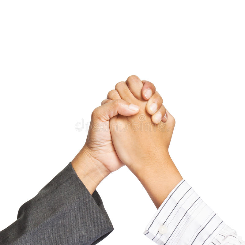 Download Two Business Hands Stock Photography - Image: 25182502