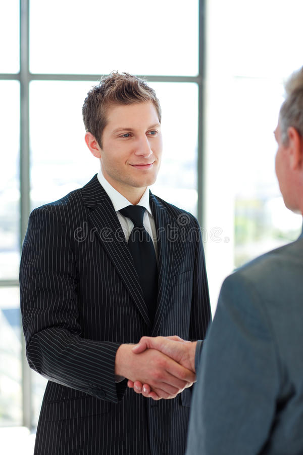 Download Two Business Man Shaking Hands Stock Image - Image: 9456451