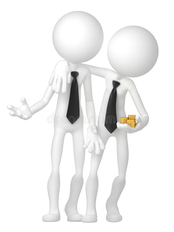 Download Two Businessmen Have A Deal Stock Photos - Image: 21756883