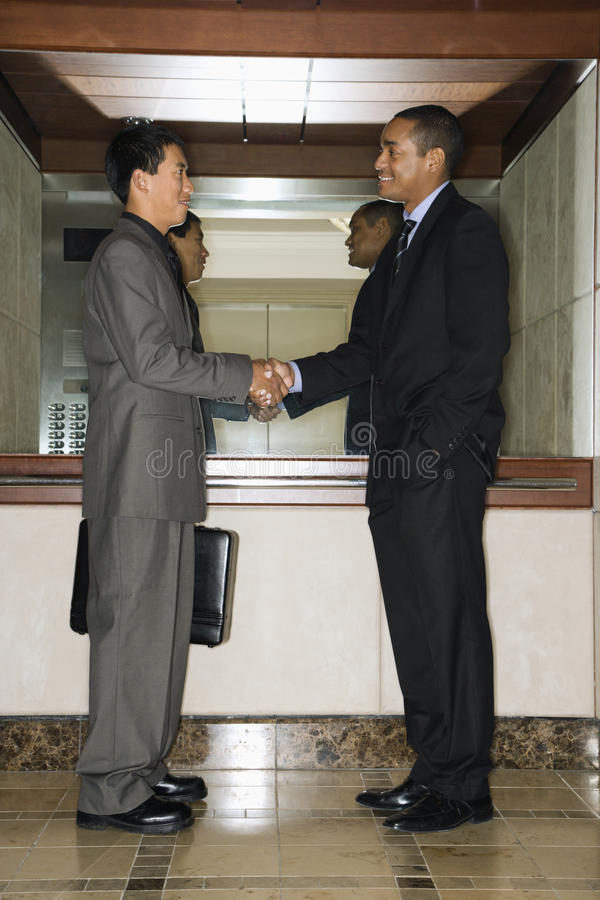 Download Two Businessmen Shaking Hands Stock Photo - Image: 12747360