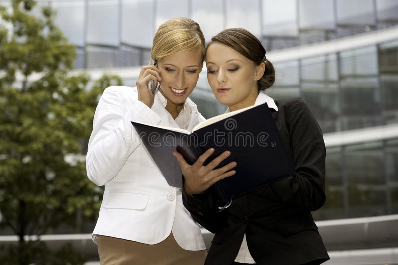 Download Two Businesswomen Royalty Free Stock Photography - Image: 6621937