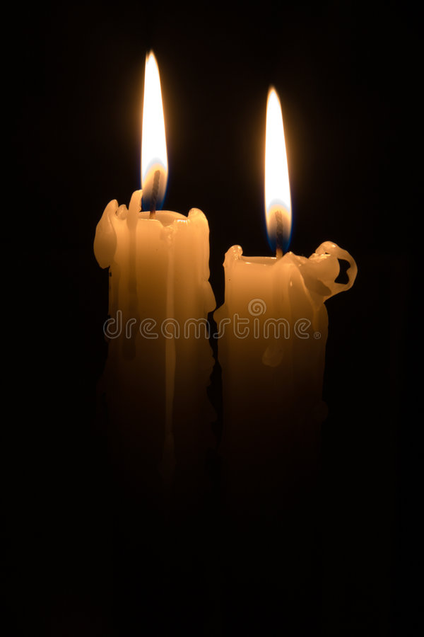 Download Two Candles Royalty Free Stock Image - Image: 6771926