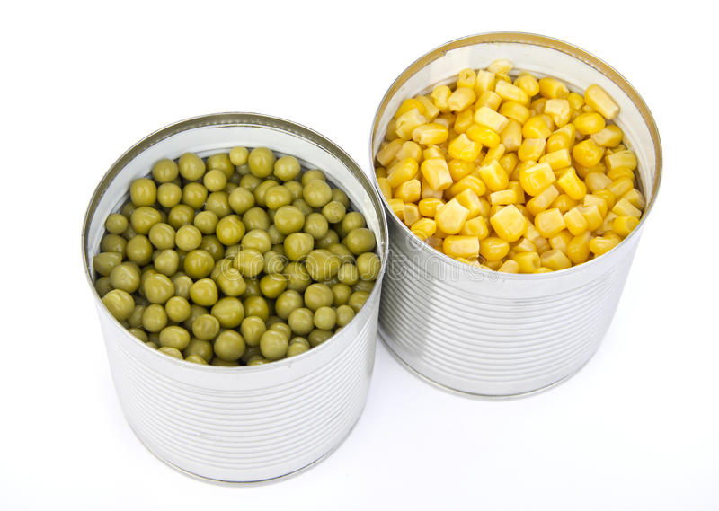 Download Two cans of vegetables stock image. Image of canned, gourmet - 20007053