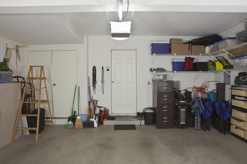 Download Two Car Garage stock image. Image of objects, modern - 19843647