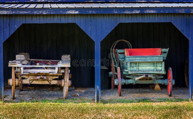 Two Carts Stock Photos