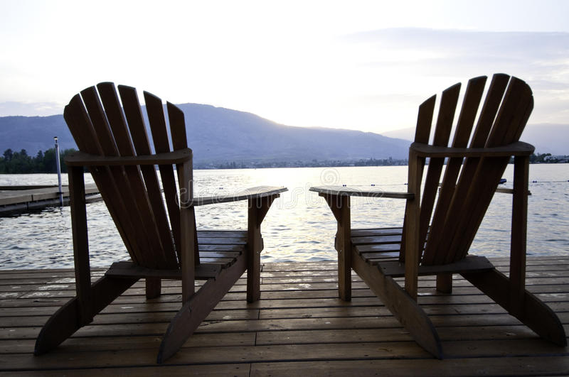 Two Chairs royalty free stock image