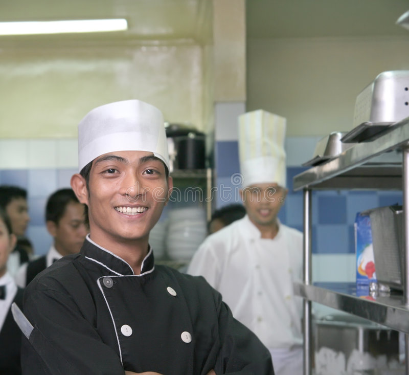 Download Two chef stock photo. Image of male, employee, chef, catering - 7636392