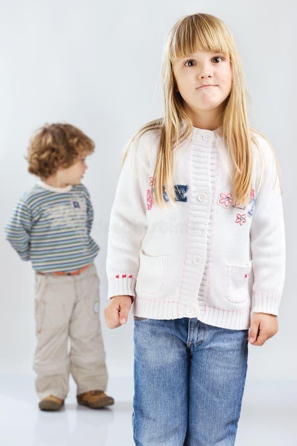 Download Two children stock image. Image of childhood, look, preschooler - 22434767