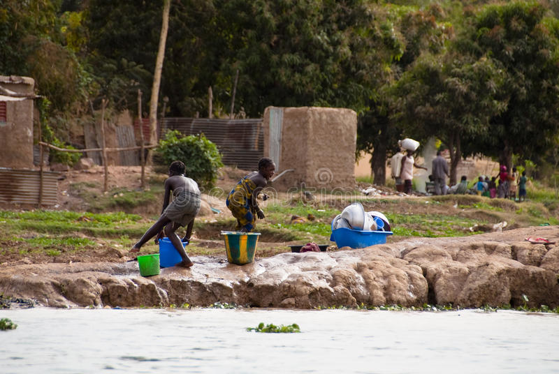 Download Two Children Playing In Mali Editorial Photo - Image: 24179376