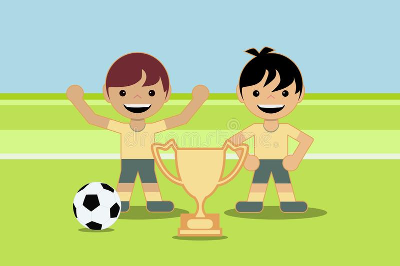 Two Boys Playing Football Stock Illustrations 111 Two Boys Playing Football Stock Illustrations Vectors Clipart Dreamstime