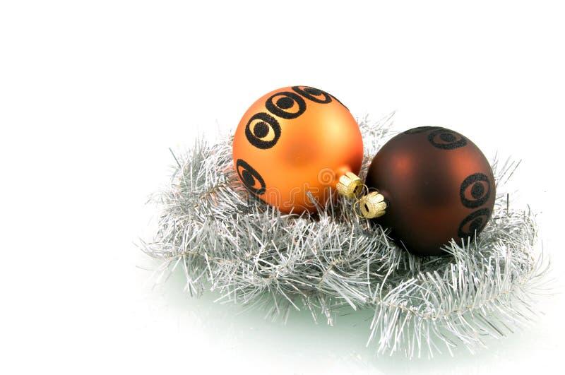 Two Christmas Balls Stock Image