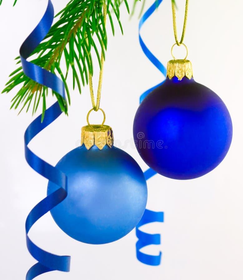 Free Two Christmas Balls Royalty Free Stock Photo - 7004275