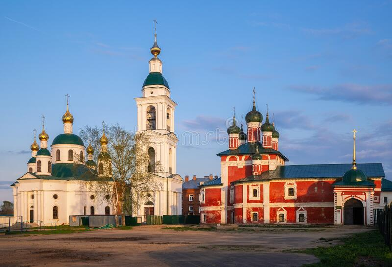 Epiphany monastery in Uglich, Russia royalty free stock images