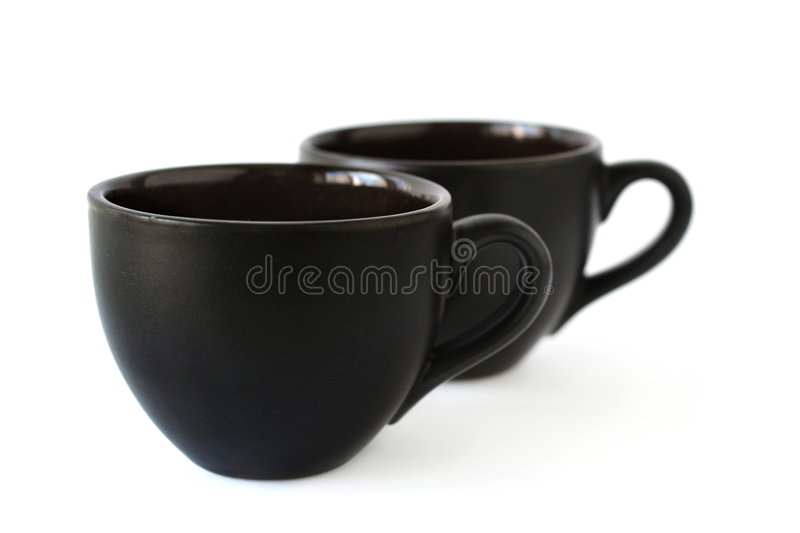 Download Two coffee cups stock photo. Image of ceramics, decoration - 7184506