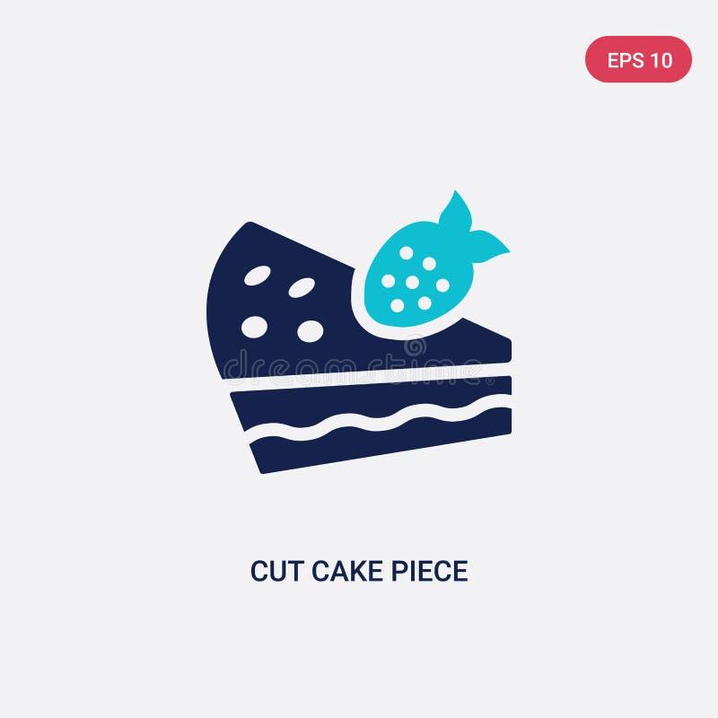 Piece Of Cake Isometric Icon Stock Vector Illustration