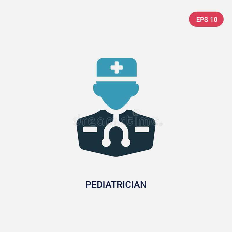 Pediatrician with baby stock vector. Illustration of ...