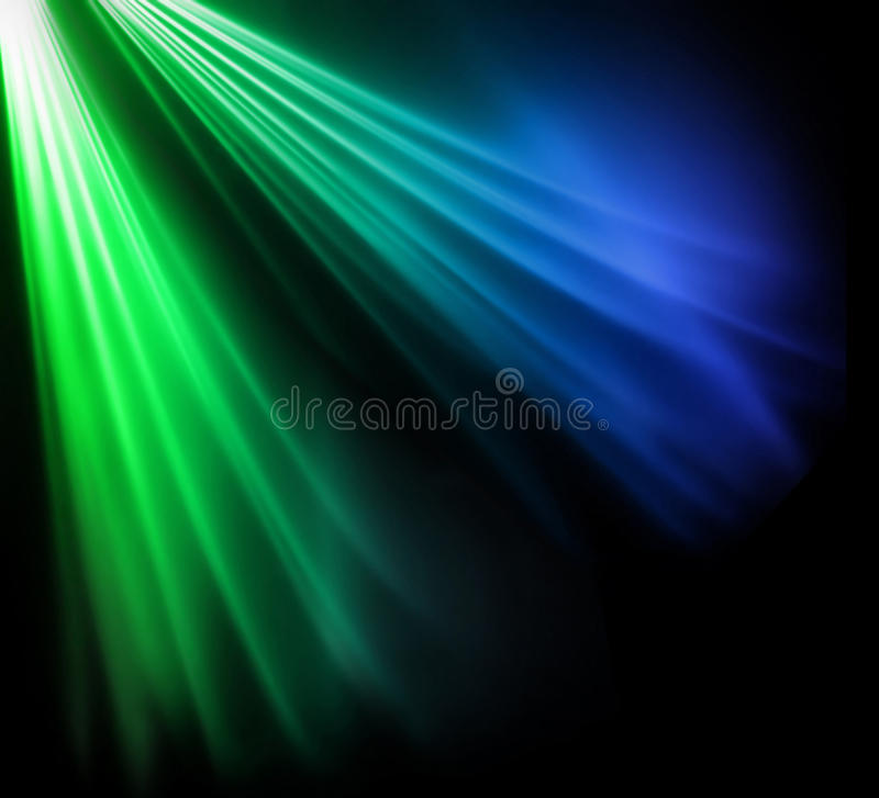 Two Colored Beams Stock Photos