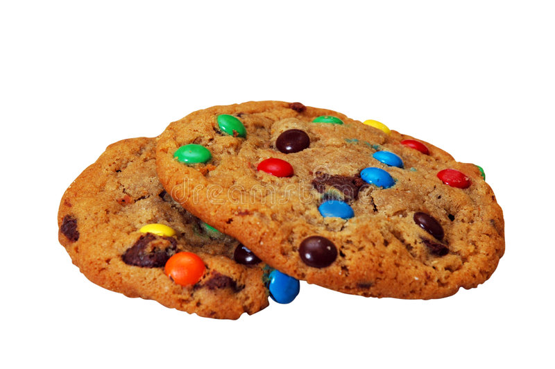 Two Cookies stock image