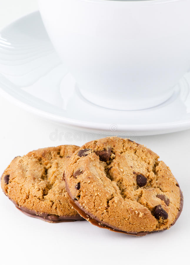 Two Cookies Royalty Free Stock Photography