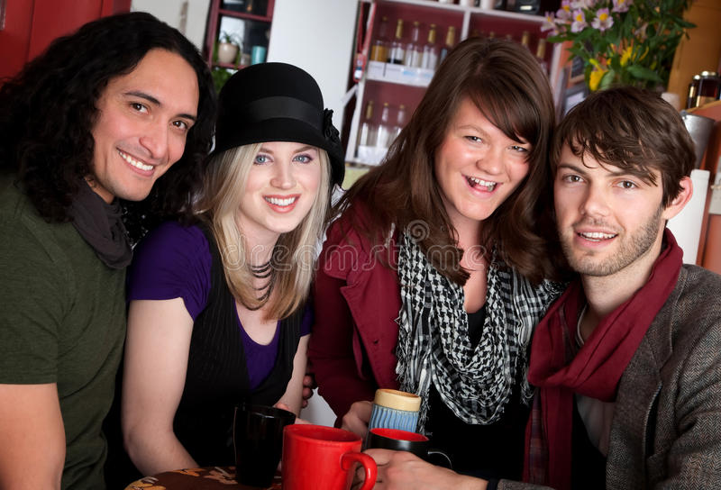 Download Two Couples stock photo. Image of hipster, diversity - 14552086