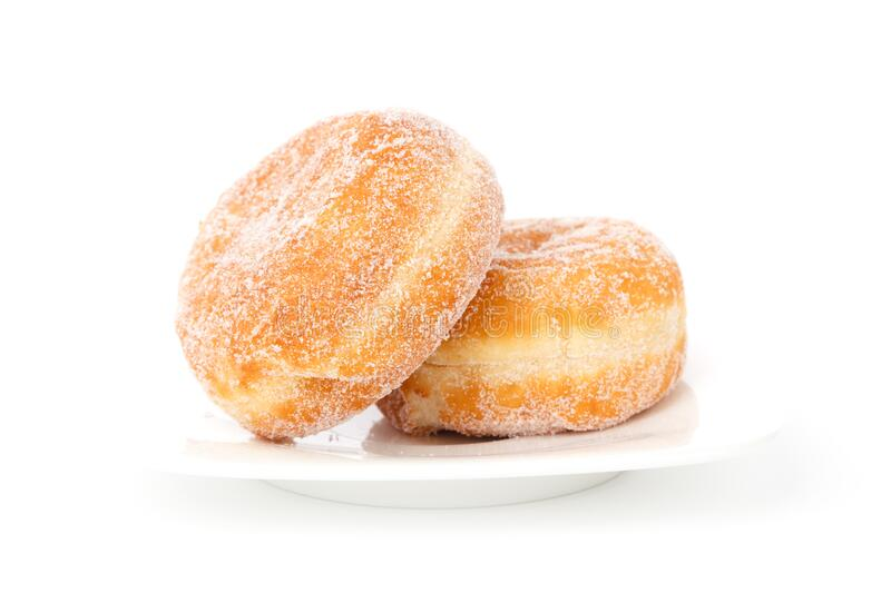 Two Creme Filled Donuts Free Public Domain Cc0 Image