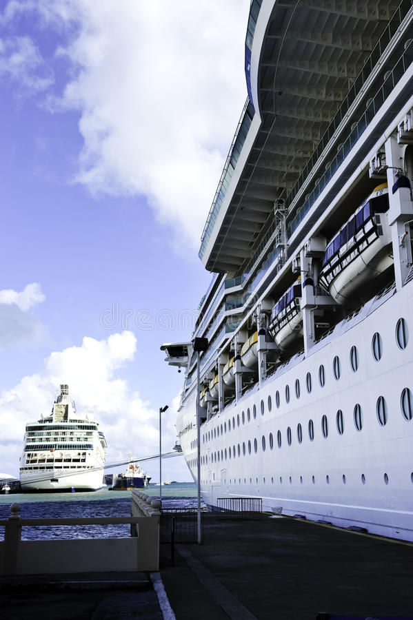 Download Two Cruise Ships stock photo. Image of tourism, cruise - 19275166