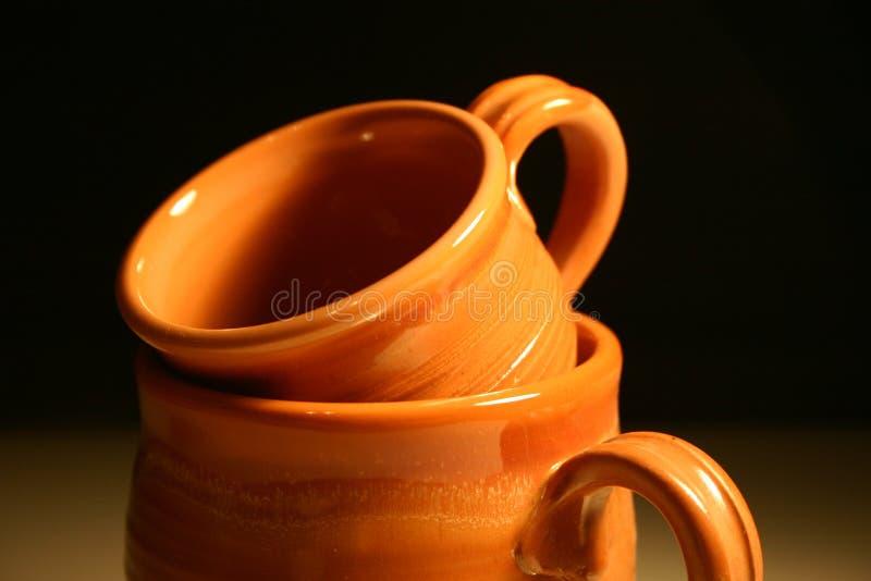 Two cups II stock image