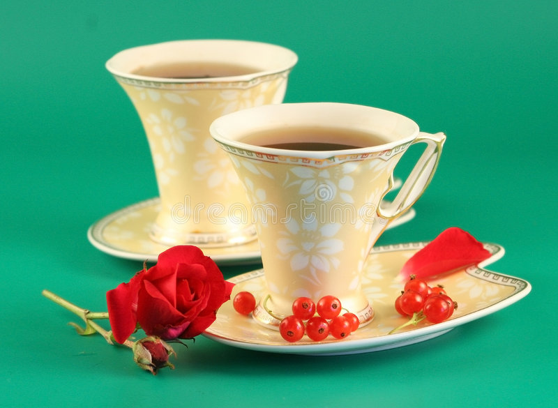 Download Two Cups Of Tea Stock Photography - Image: 2699072