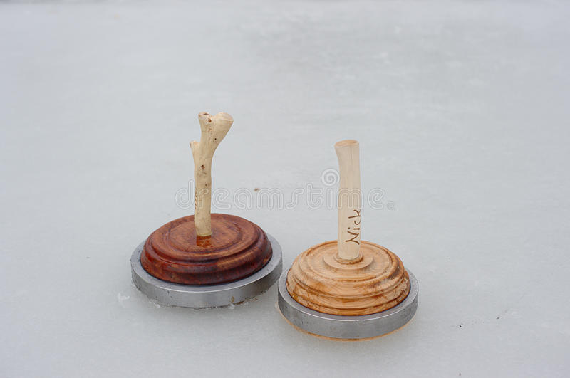 Download Two Curling Stones Royalty Free Stock Photography - Image: 13119407