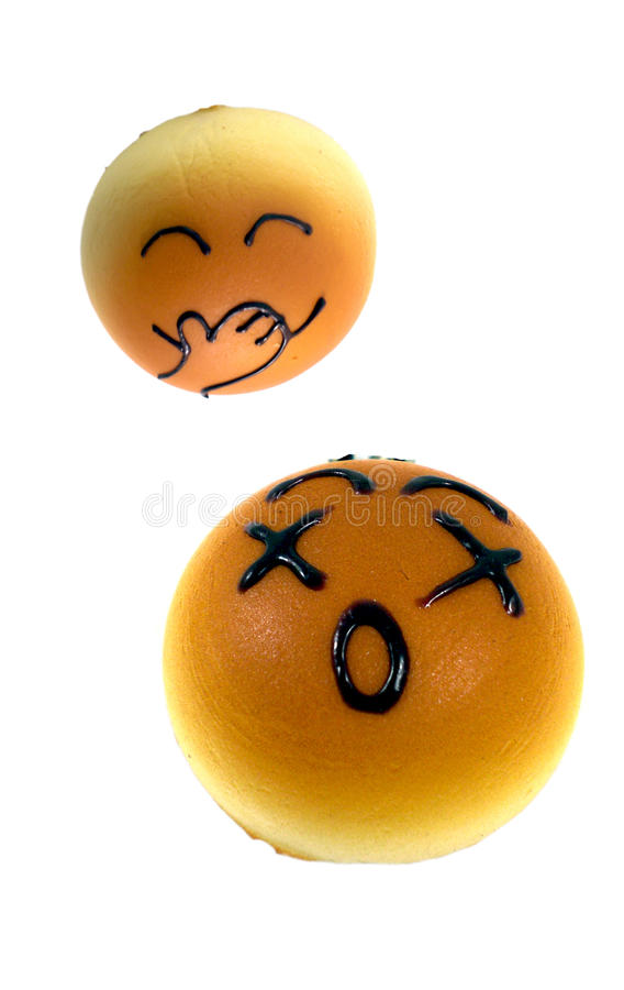 Download Two Cute Bread One Laugh At Another Royalty Free Stock Image - Image: 12083516