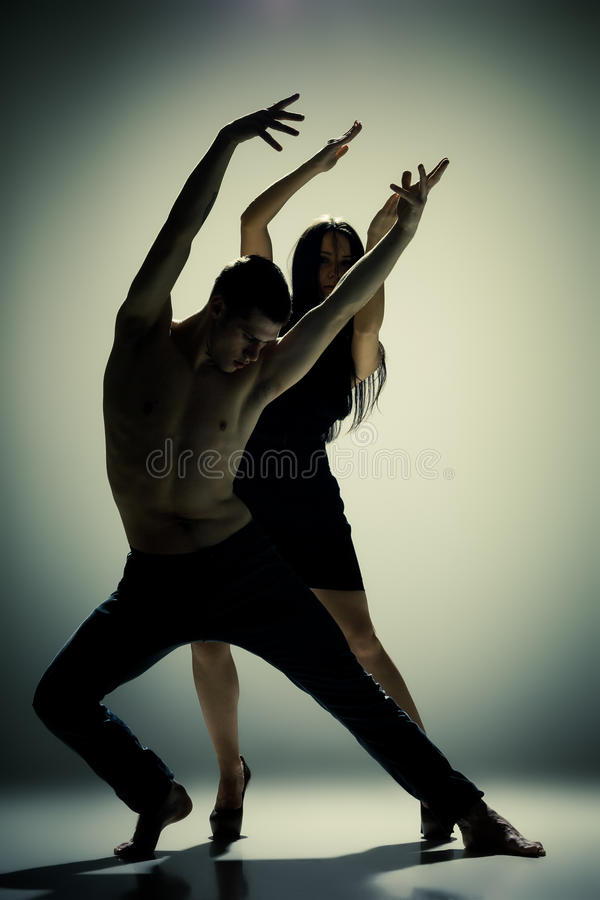 Download Two Dancers Royalty Free Stock Photography - Image: 28772927