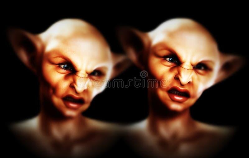 Download Two Demons stock illustration. Image of creepy, halloween - 3219023