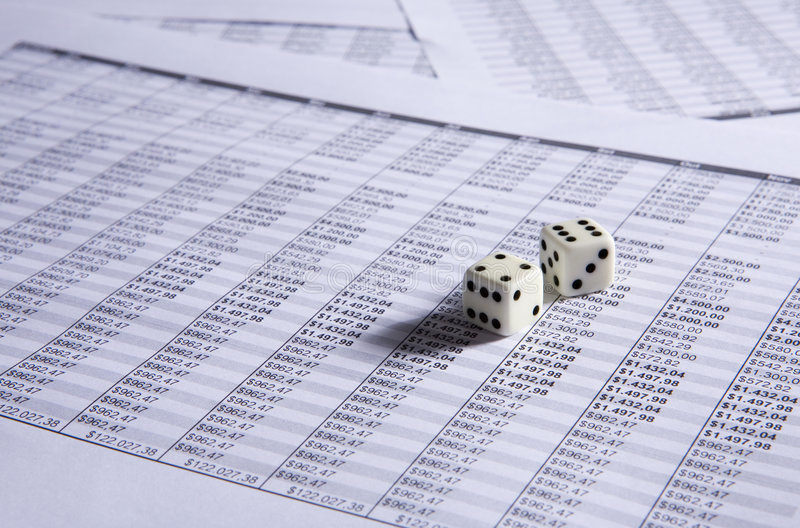 Download Two dice stock image. Image of investment, bank, business - 6037685