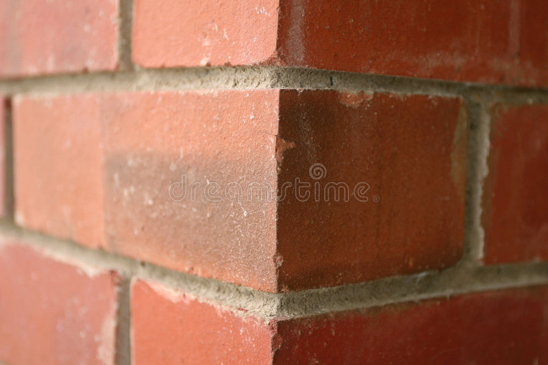Download Two Dimension Brick Wall stock image. Image of brown, delusion - 1035947