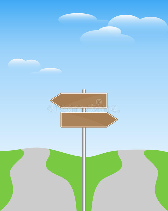 Free Two Direction Signpost Stock Photo - 16893390