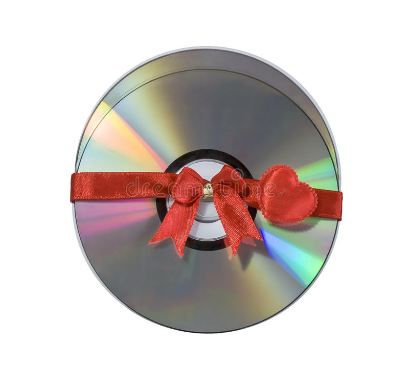 Two Discs As A Gift Stock Image
