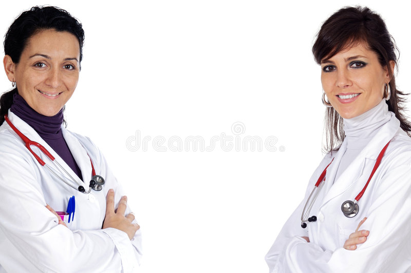 Download Two Doctor Women Royalty Free Stock Photo - Image: 5365985