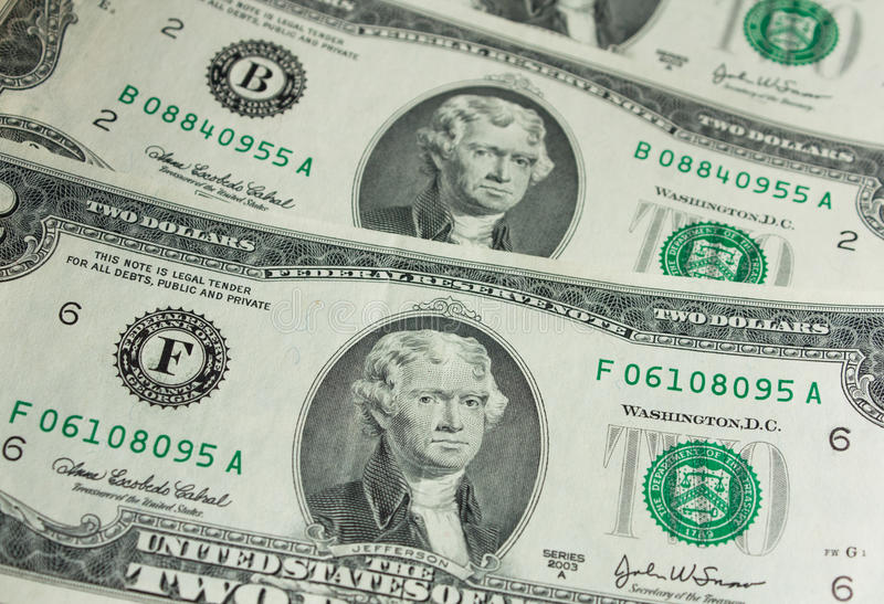 Download Two-dollar Bill Royalty Free Stock Photography - Image: 28482247