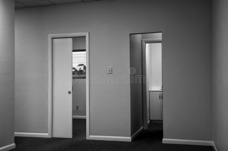 Two doors royalty free stock photo