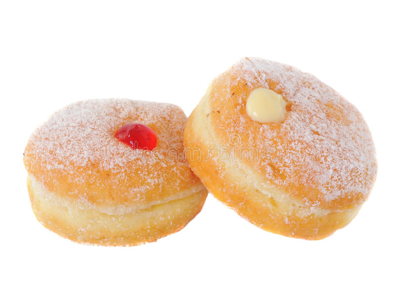 Download Two doughnuts stock image. Image of party, food, candy - 24713673