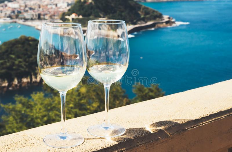 White Wine Toast Stock Photo Image Of Enjoyment Cheers